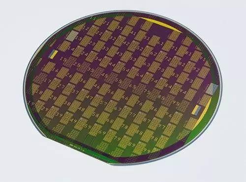 碳集成电路晶元