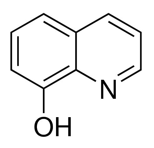 8-羟基喹啉/148-24-3分子结构式