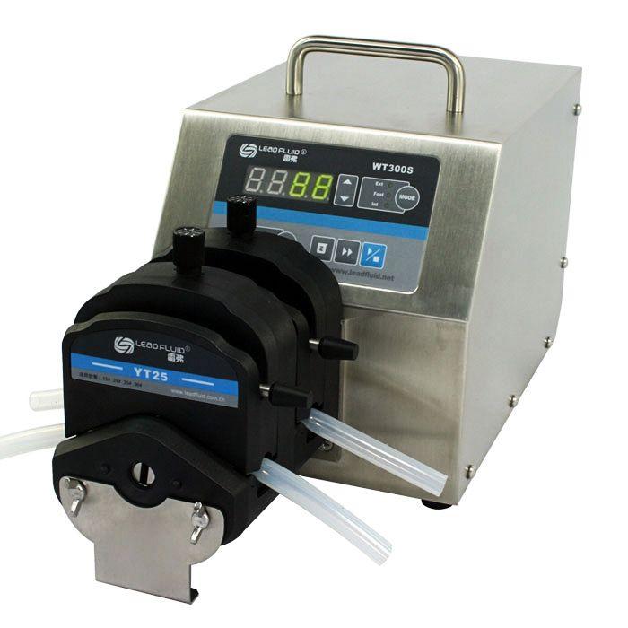 WT300S大扭矩调速型蠕动泵(YT25×2)图片